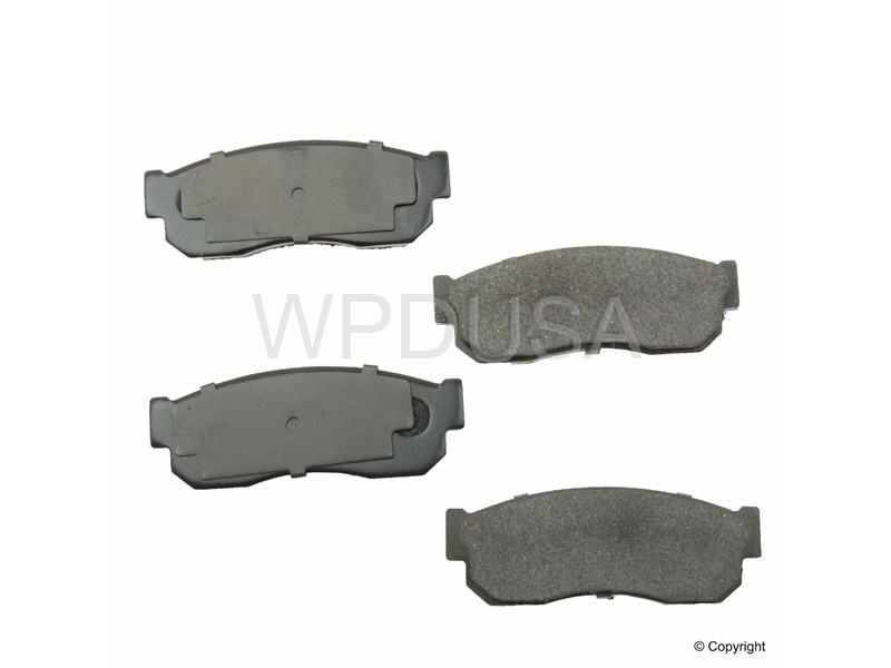213489 - Disc Brake Pad - Front - OPparts Ceramic