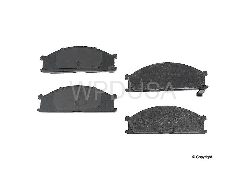 213493 - Disc Brake Pad - Front - OPparts Semi Met