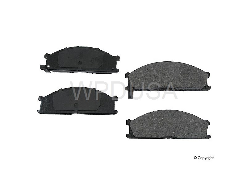 213492 - Disc Brake Pad - Front - OPparts Ceramic