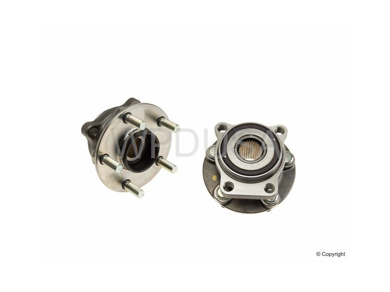 213793 - Axle Bearing and Hub Assembly - Front - BCA