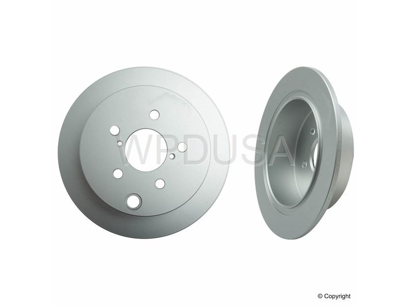 212989 - Disc Brake Rotor - Rear - Meyle