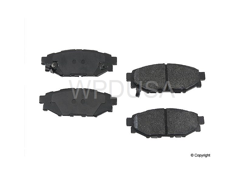 213481 - Disc Brake Pad - Rear - OPparts Semi Met