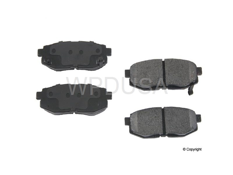 213486 - Disc Brake Pad - Rear - OPparts Semi Met