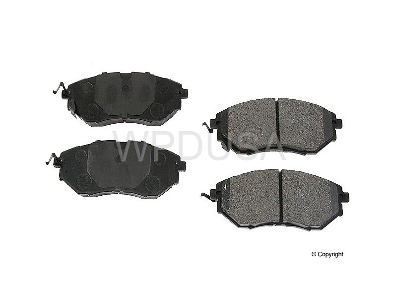 213477 - Disc Brake Pad - Front - OPparts Semi Met