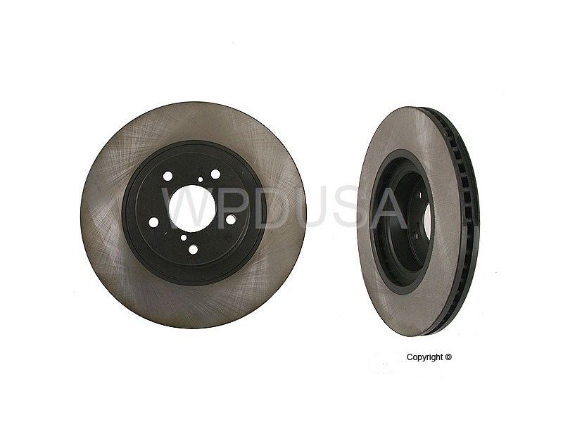 213008 - Disc Brake Rotor - Front - OPparts