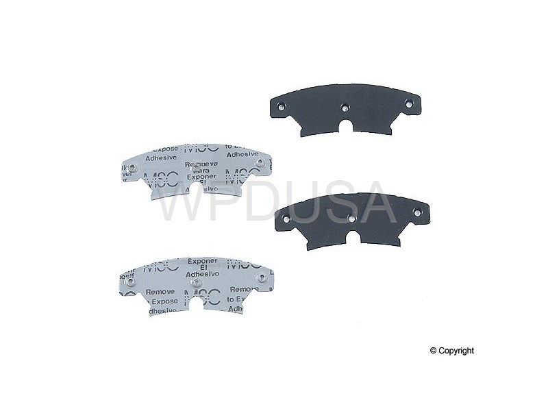 213196 - Disc Brake Pad Shim - Rear - OPparts