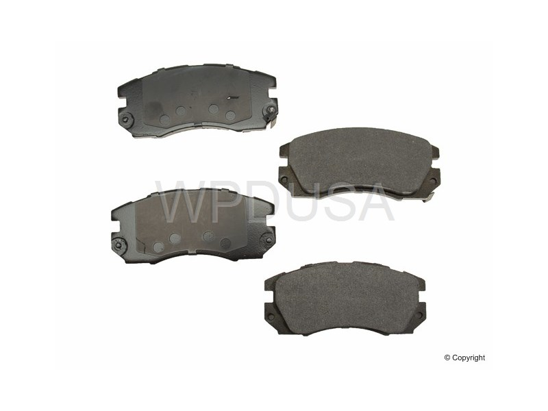213504 - Disc Brake Pad - Front - OPparts Ceramic